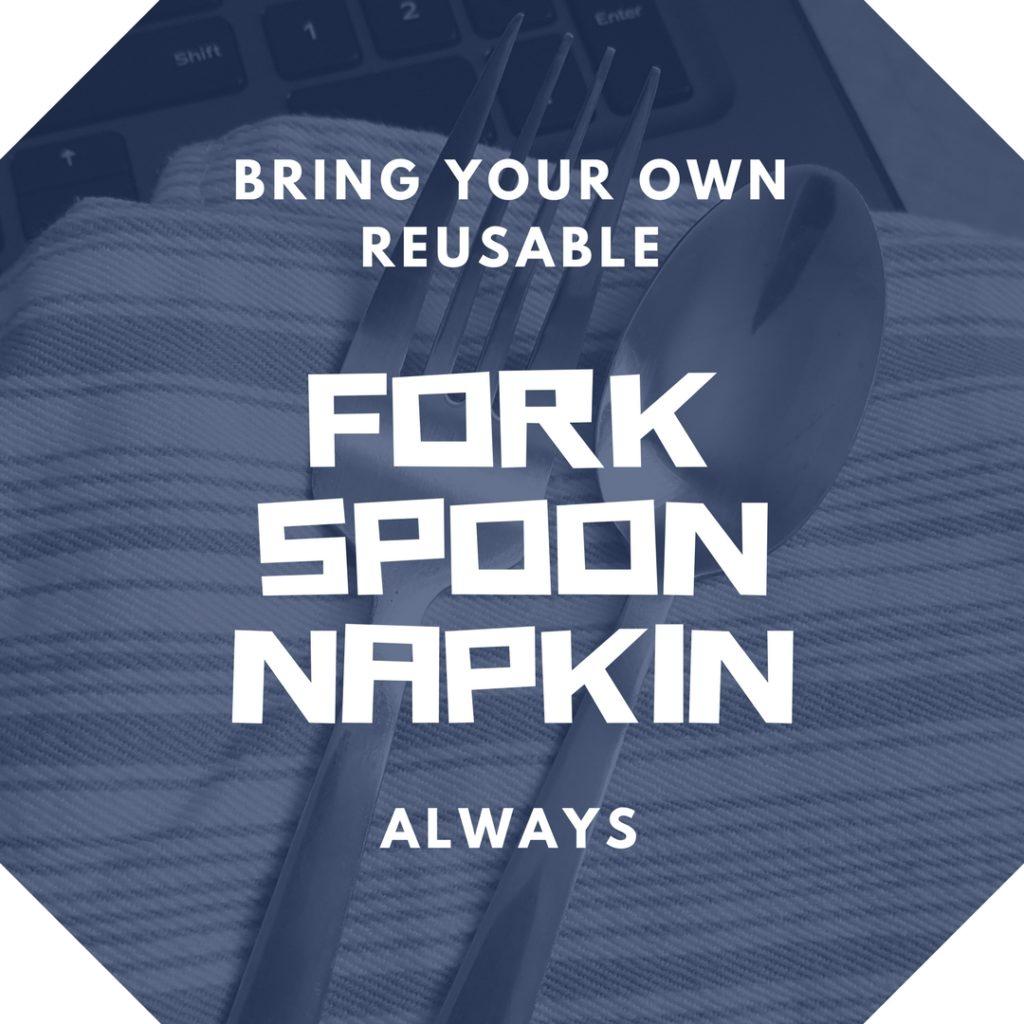 avoid plastic forks