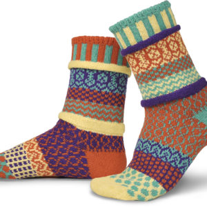 dawn solmate socks crew recycled cotton